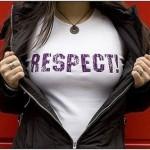 Respeito é bom, quem não gosta?