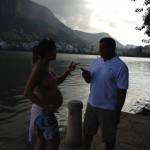 O Ministério da Saúde adverte: a Lagoa Rodrigo de Freitas vicia. Use sem moderação.